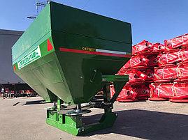 Разбрасыватель удобрений 1500л навесной двухдисковый Фермер, фото 3