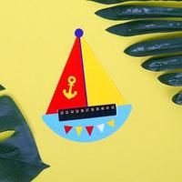 Термометр детский для воды 'Кораблик'