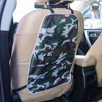 Защитная накидка на спинку сиденья автомобиля, 38х55, оксфорд, цвет камуфляж