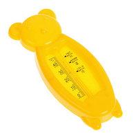 Термометр 'Мишка', детский, для воды, пластик, 14 см, МИКС