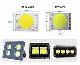Прожектор светодиодный, софит 10 в. Прожекторы светодиодные для стадионов, парковок, строек, фасадов зданий., фото 3