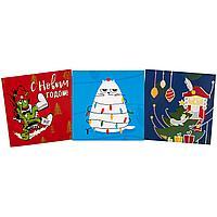 Набор Warmest Wishes: 3 открытки с конвертами (артикул 71945.02)