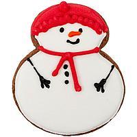 Печенье Sweetish Snowman, красное (артикул 12918.15), фото 1