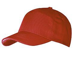 Бейсболка Unit First, красная (артикул 6025.50)