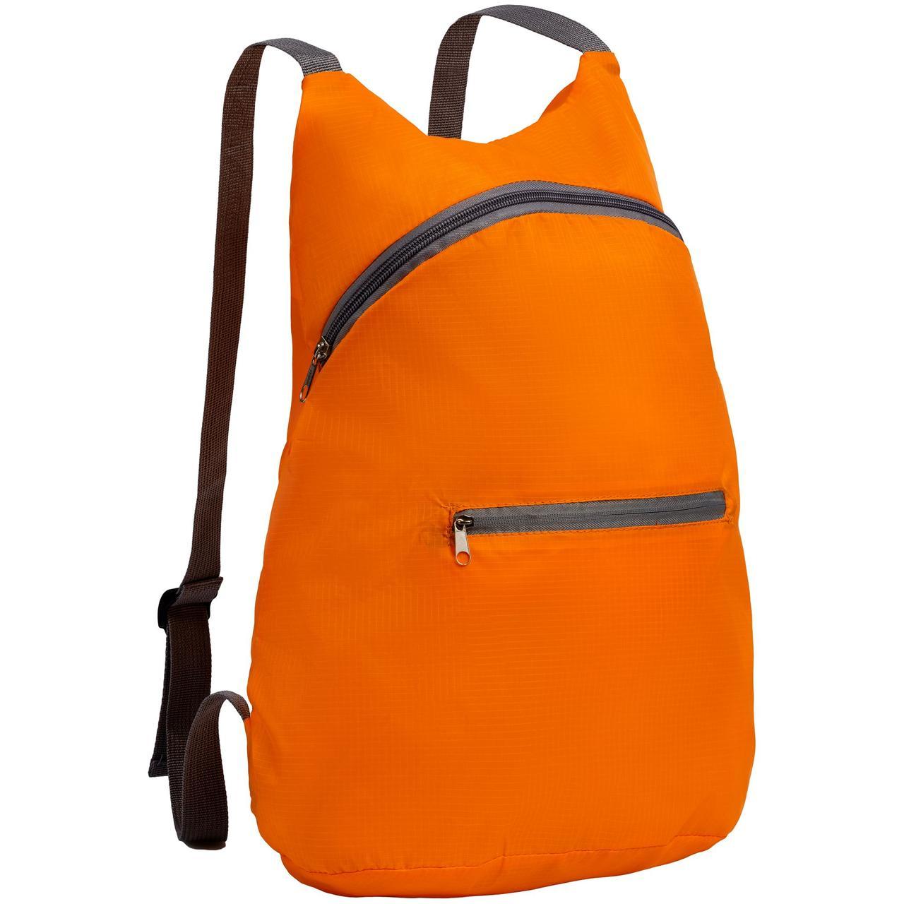 Складной рюкзак Barcelona, оранжевый (артикул 12672.20)