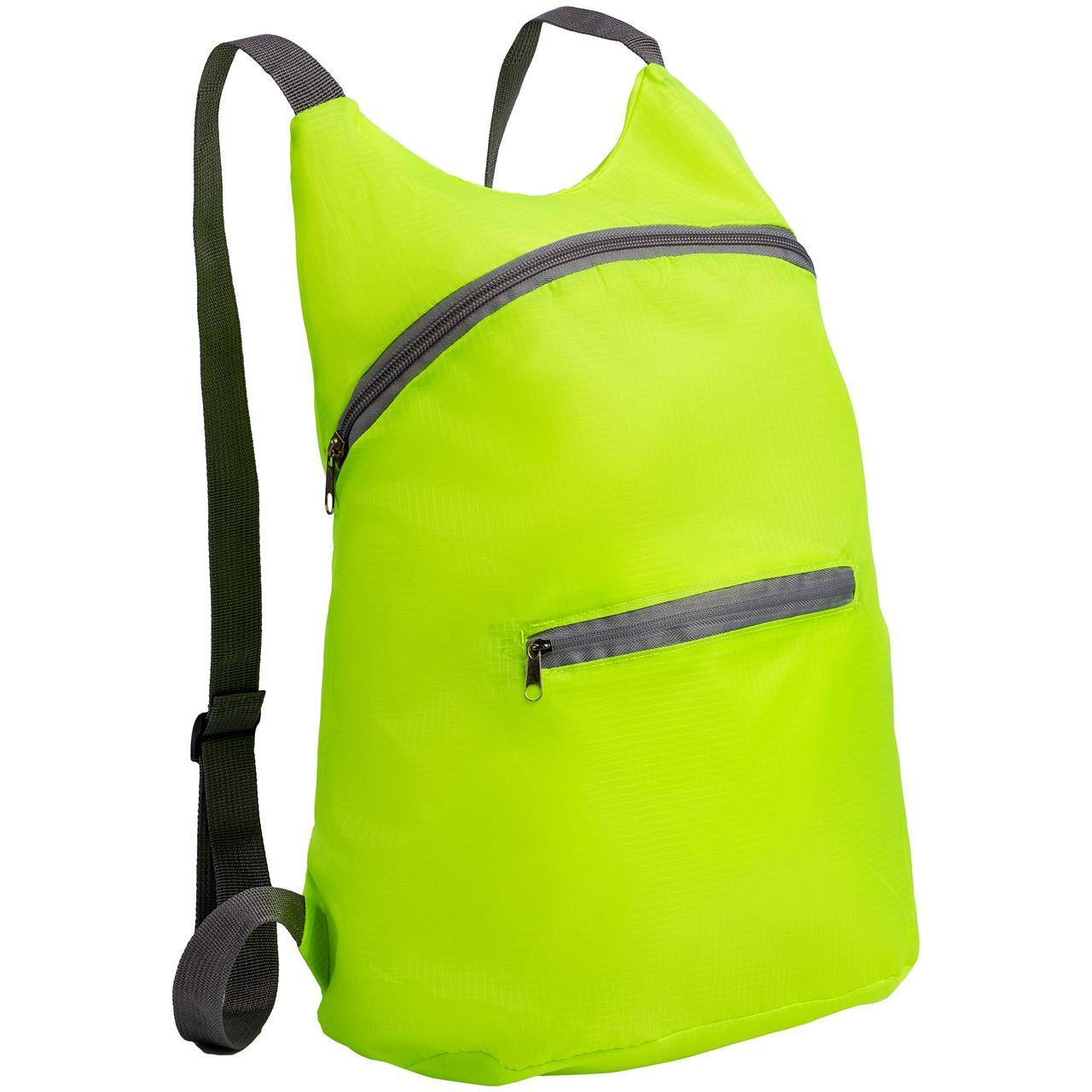 Складной рюкзак Barcelona, салатовый (артикул 12672.90)