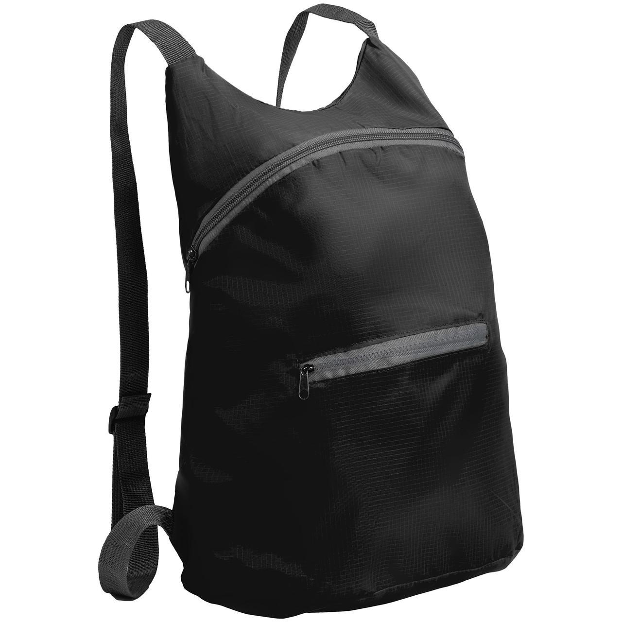 Складной рюкзак Barcelona, черный (артикул 12672.30)