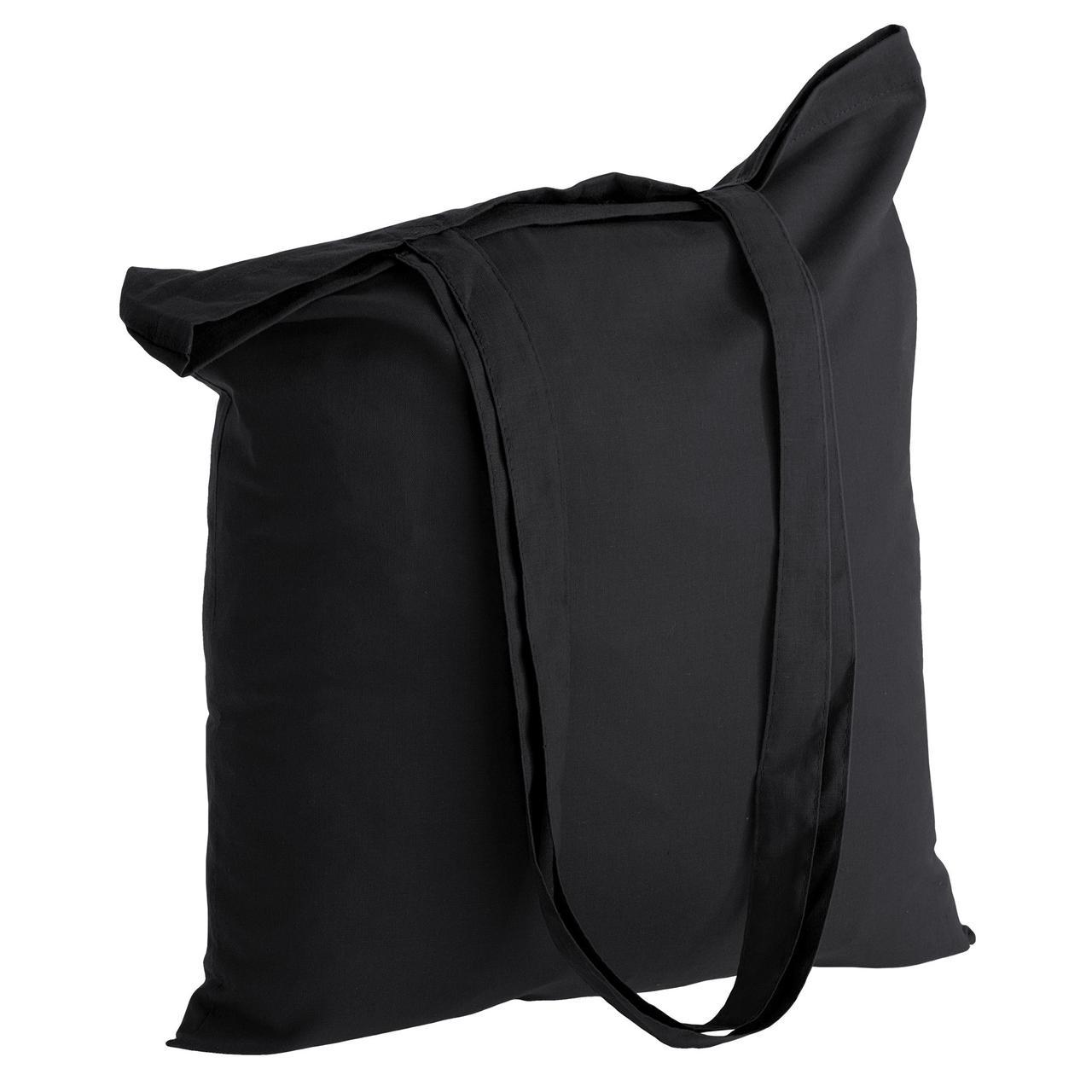Холщовая сумка Basic 105, черная (артикул 1292.30)