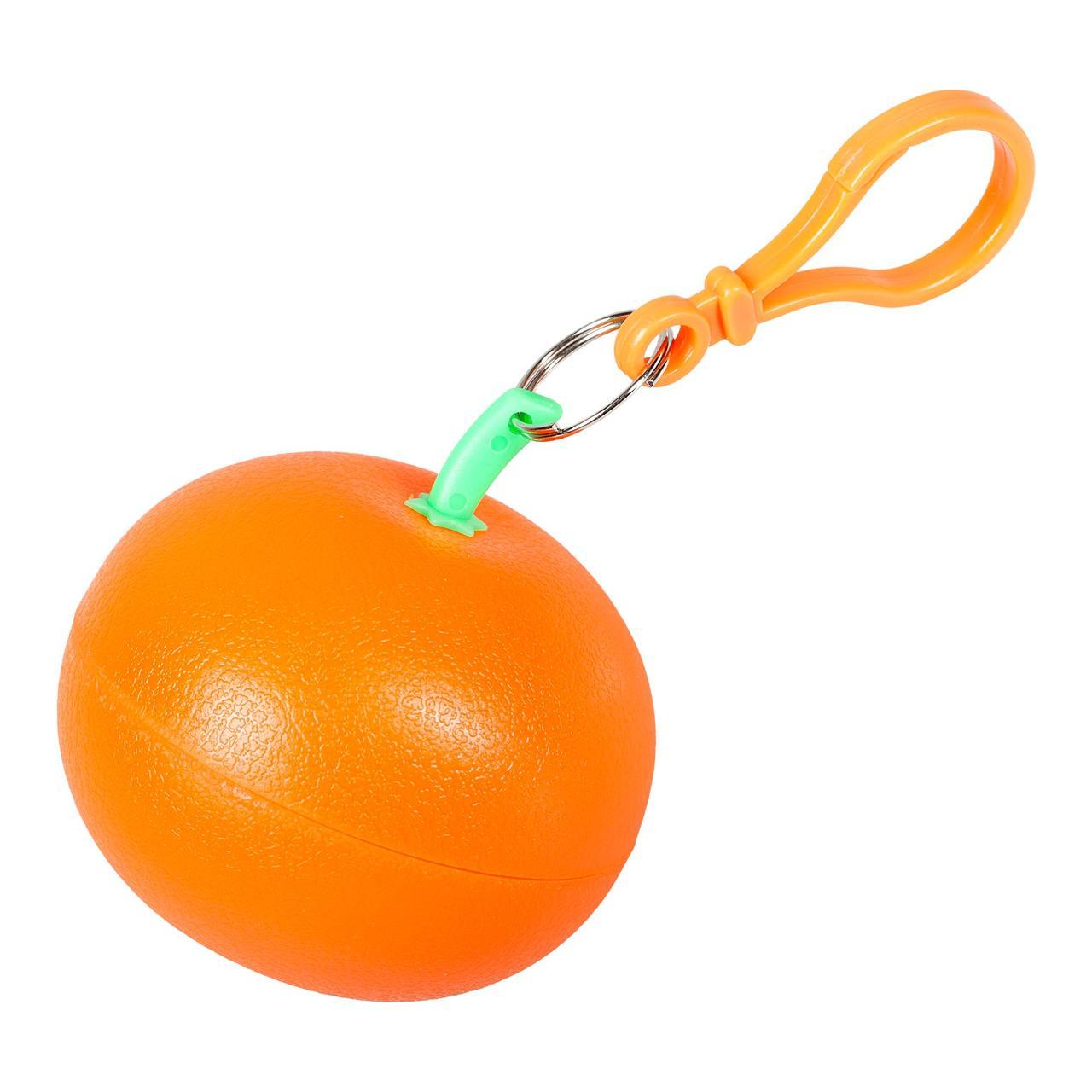 Дождевик в футляре «Фрукт», оранжевый мандарин (артикул 3708.20)