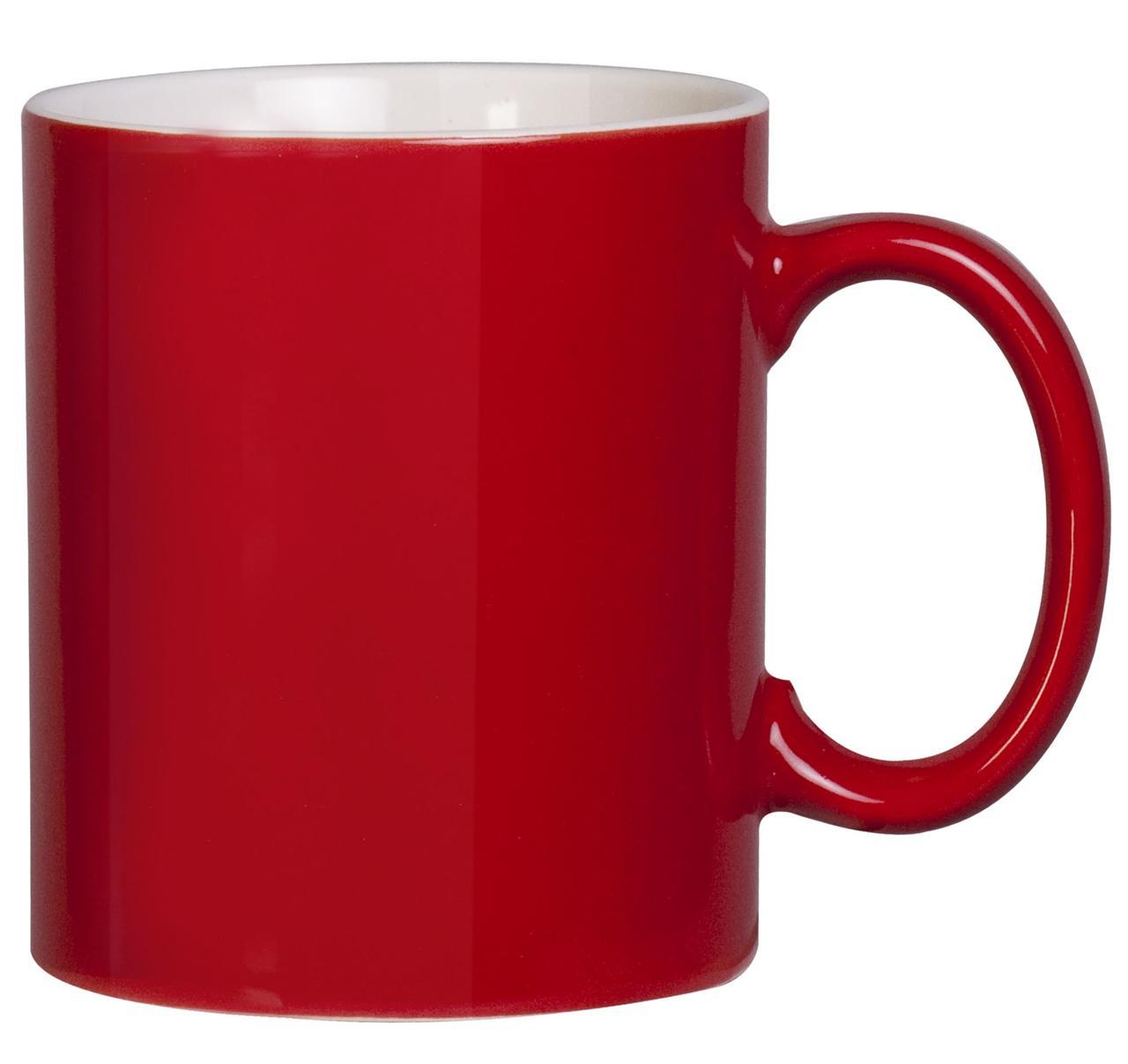 Кружка Promo, красная (артикул 4534.50)