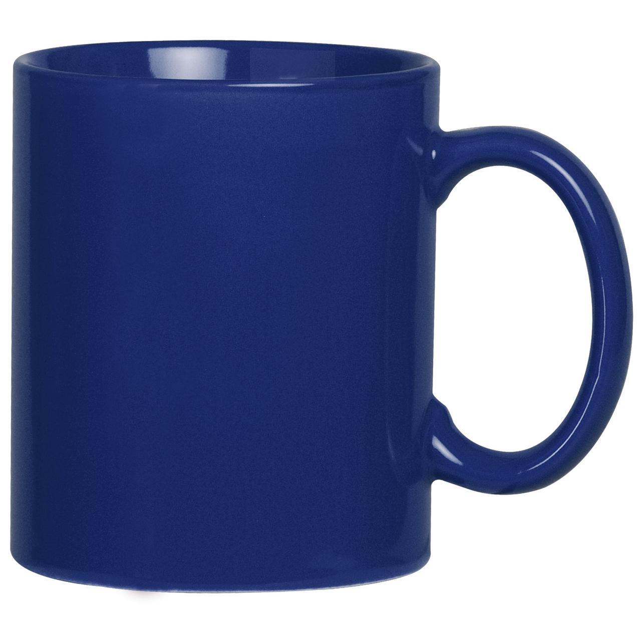 Кружка Promo, синяя (артикул 4534.44)