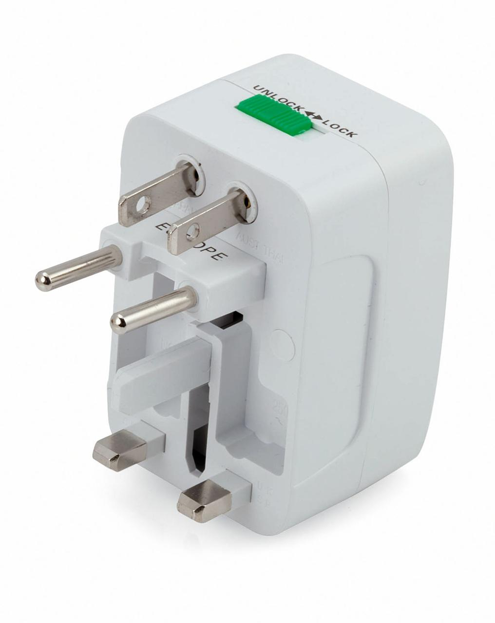 Универсальный переходник для розеток Plug In (артикул MKT3730)