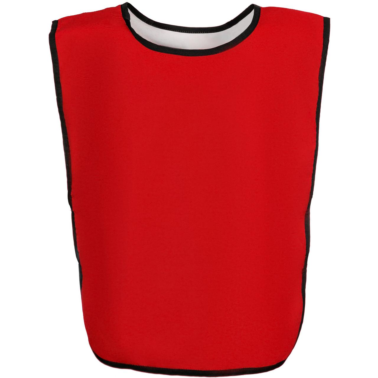 Манишка Outfit, двусторонняя, белая с красным (артикул 15108.65)