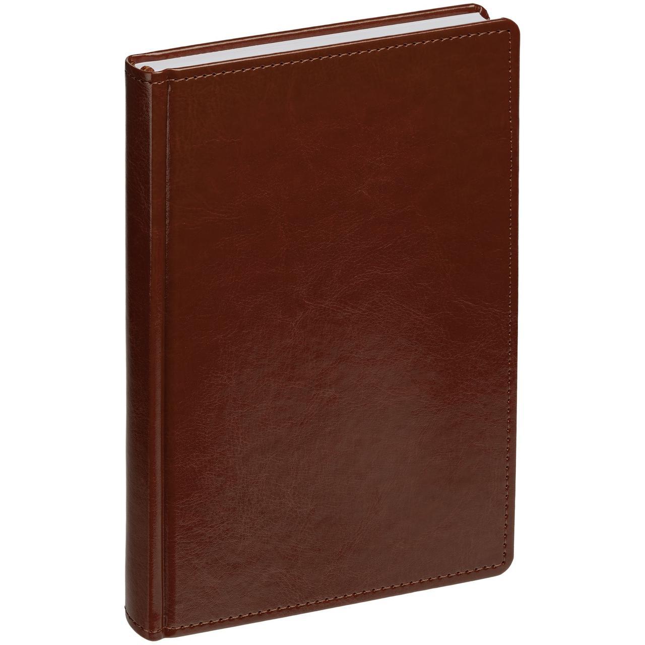 Ежедневник New Nebraska, датированный, коричневый (артикул 12878.55)