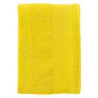 Полотенце махровое Island Small, лимонно-желтое (артикул 4591.80)