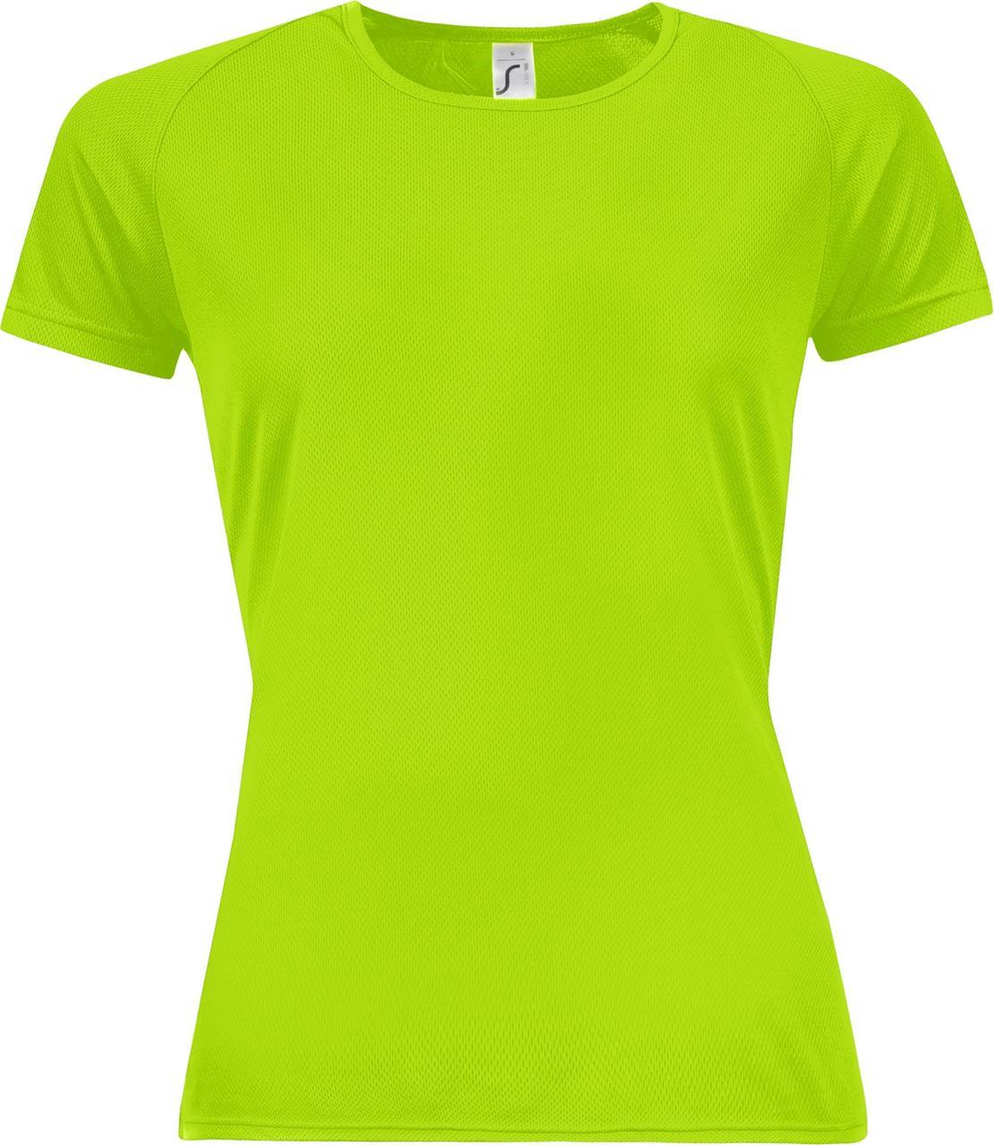 Футболка женская Sporty Women 140, зеленый неон (артикул 01159286)
