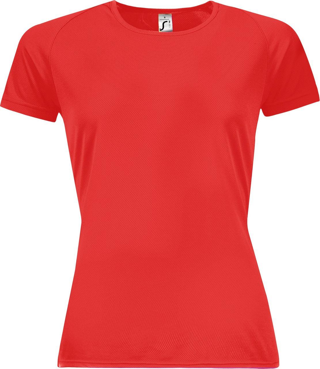 Футболка женская Sporty Women 140, красная (артикул 01159145)