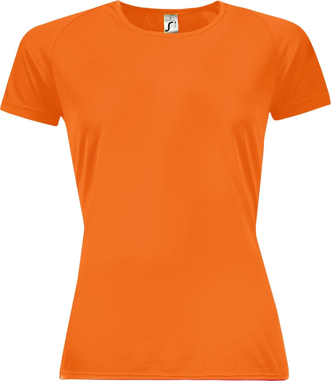 Футболка женская Sporty Women 140, оранжевый неон (артикул 01159404)