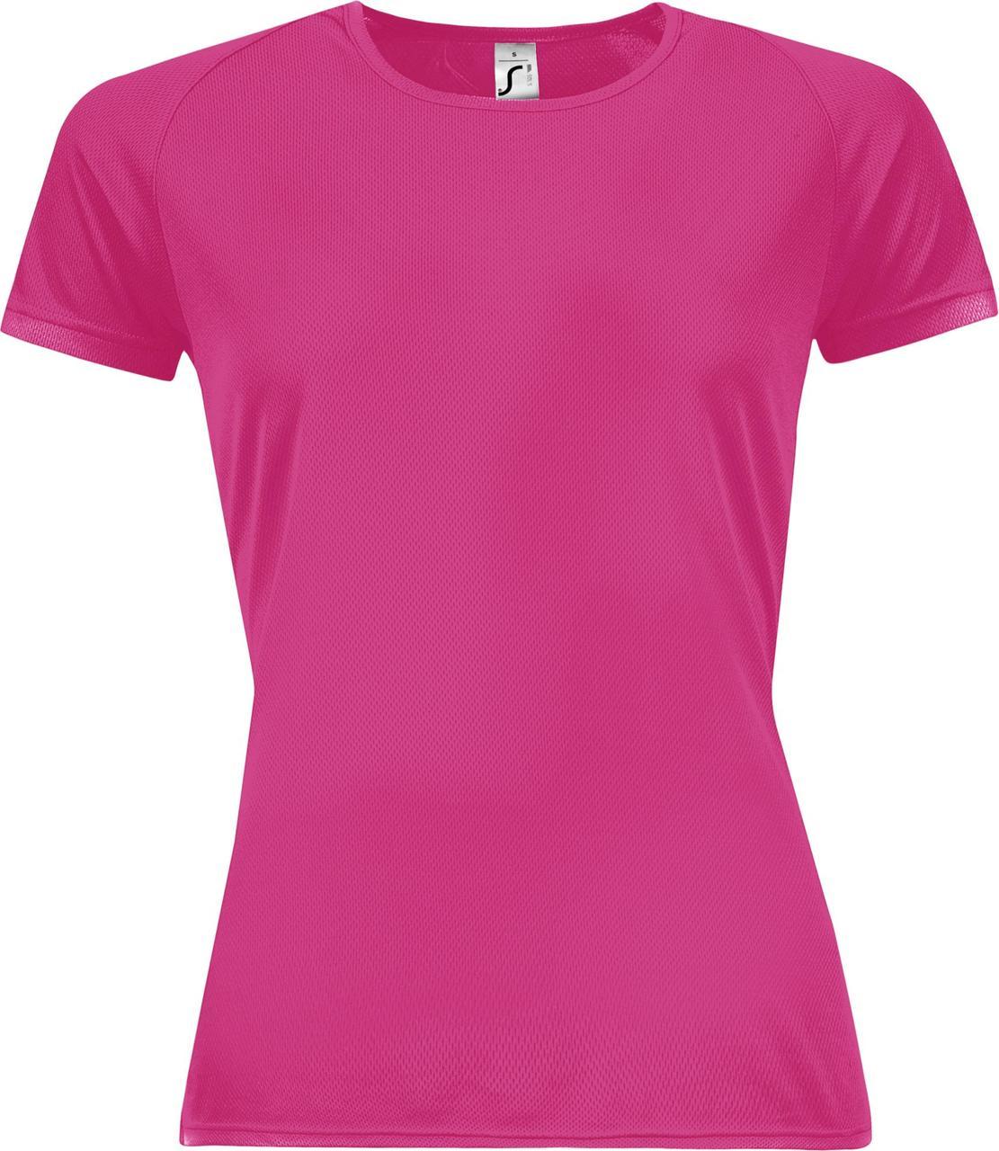 Футболка женская Sporty Women 140, розовый неон (артикул 01159129)