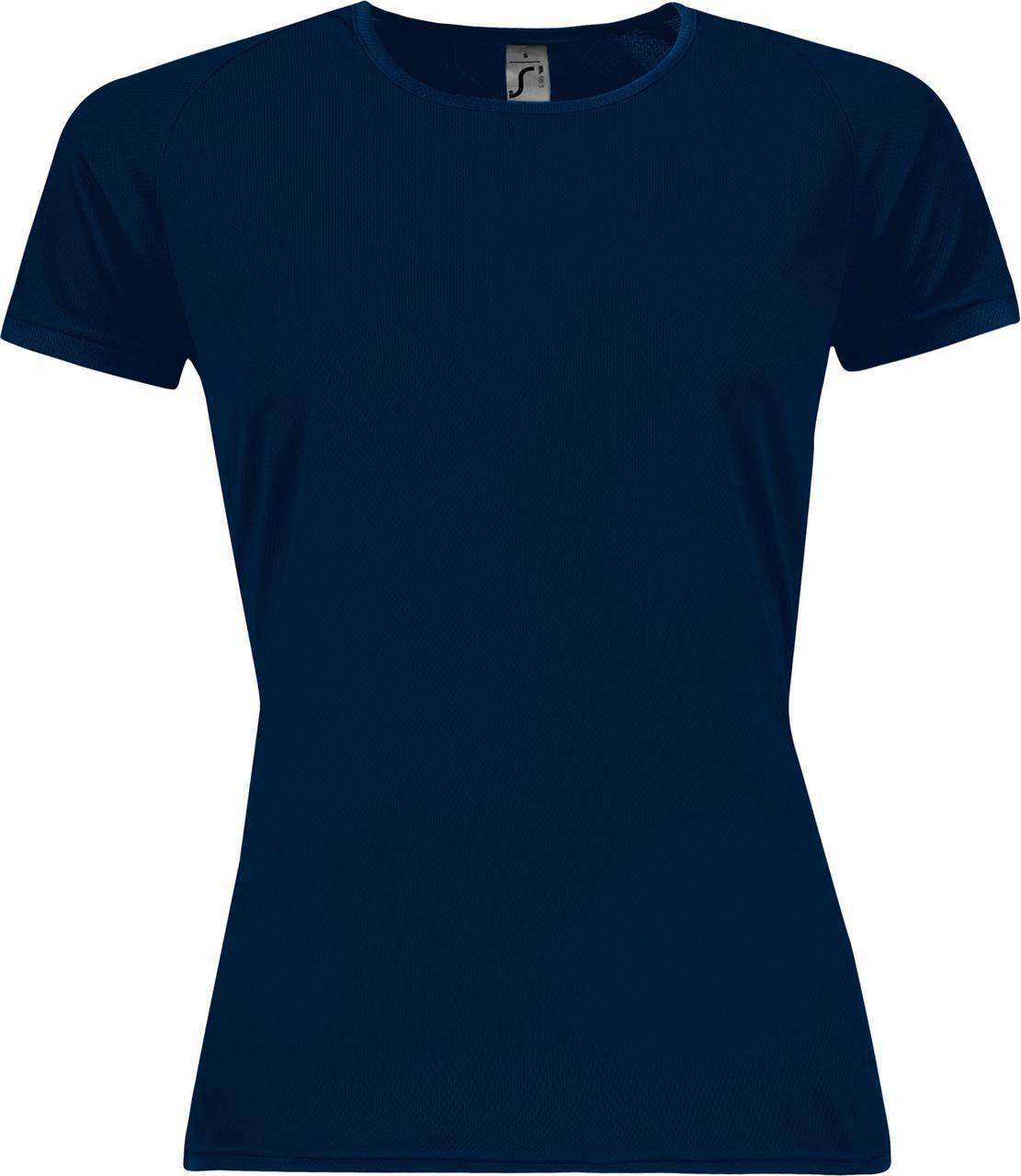 Футболка женская Sporty Women 140, темно-синяя (артикул 01159319)