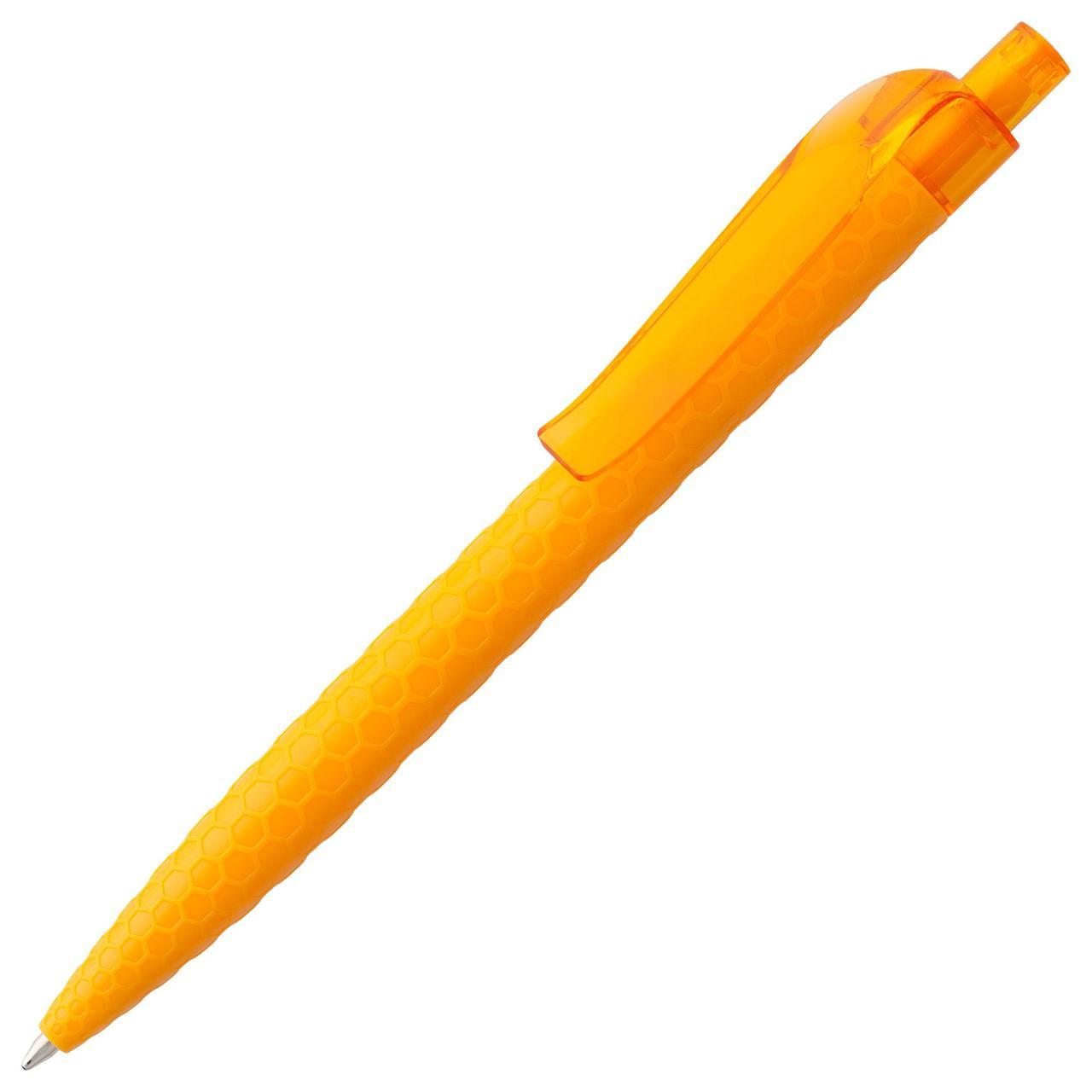Ручка шариковая Prodir QS04 PPT Honey, оранжевая (артикул 3455.20)
