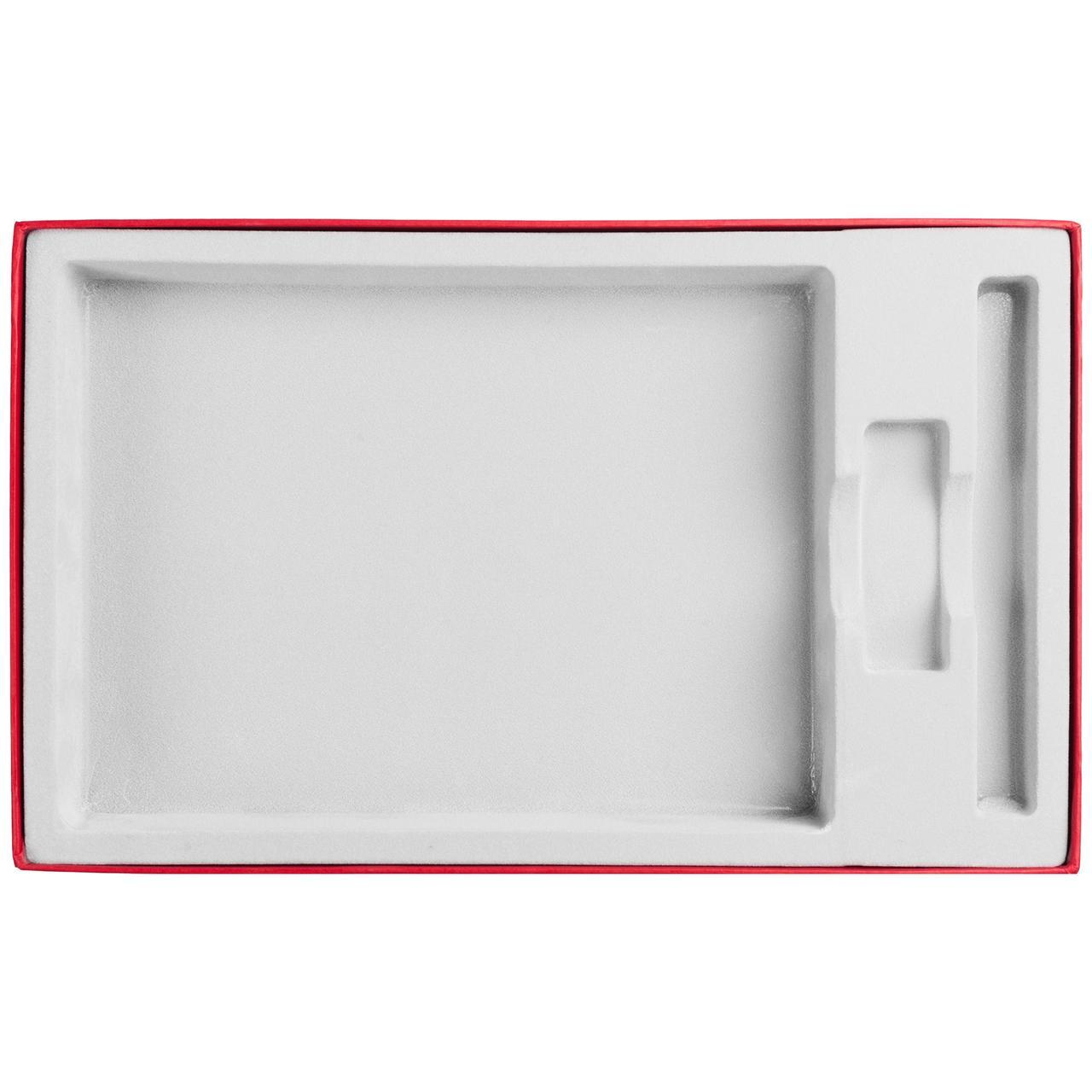 Коробка In Form под ежедневник, флешку, ручку, красная (артикул 10067.50)