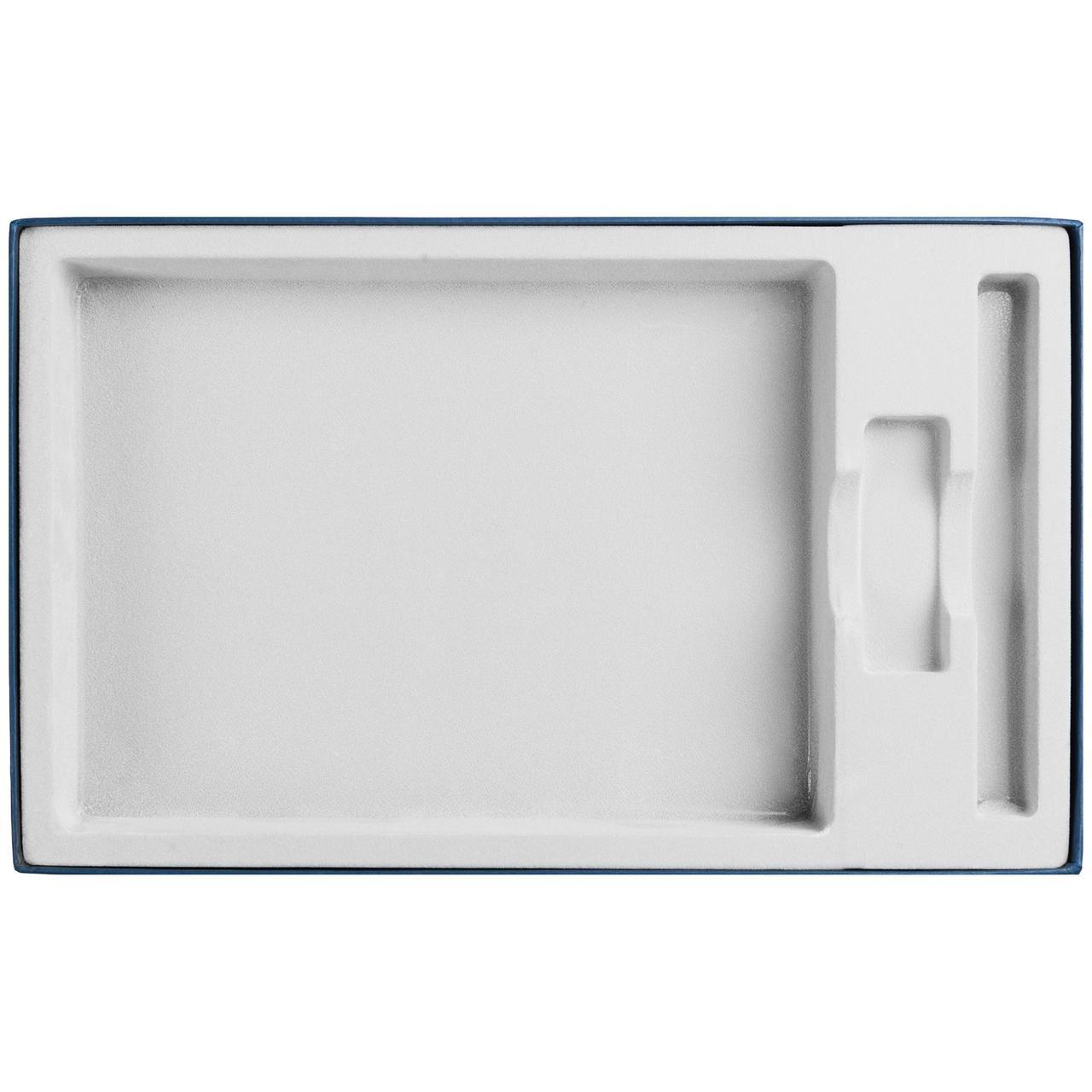 Коробка In Form под ежедневник, флешку, ручку, синяя (артикул 10067.40)