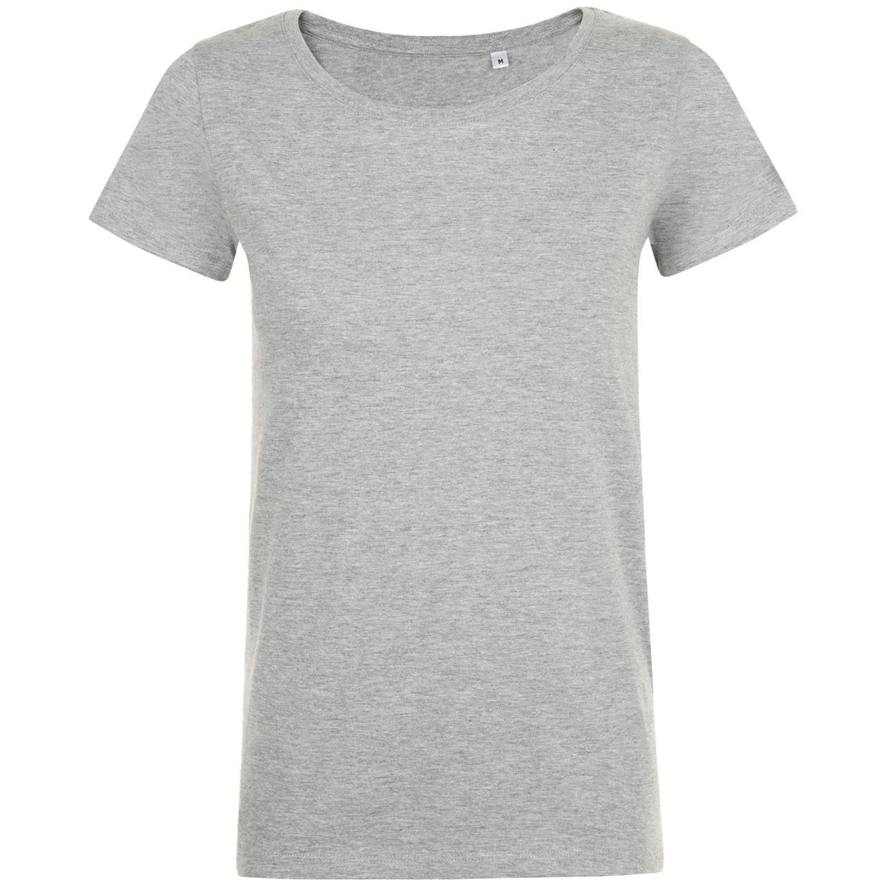 Футболка женская Mia, серый меланж (артикул 01699350)