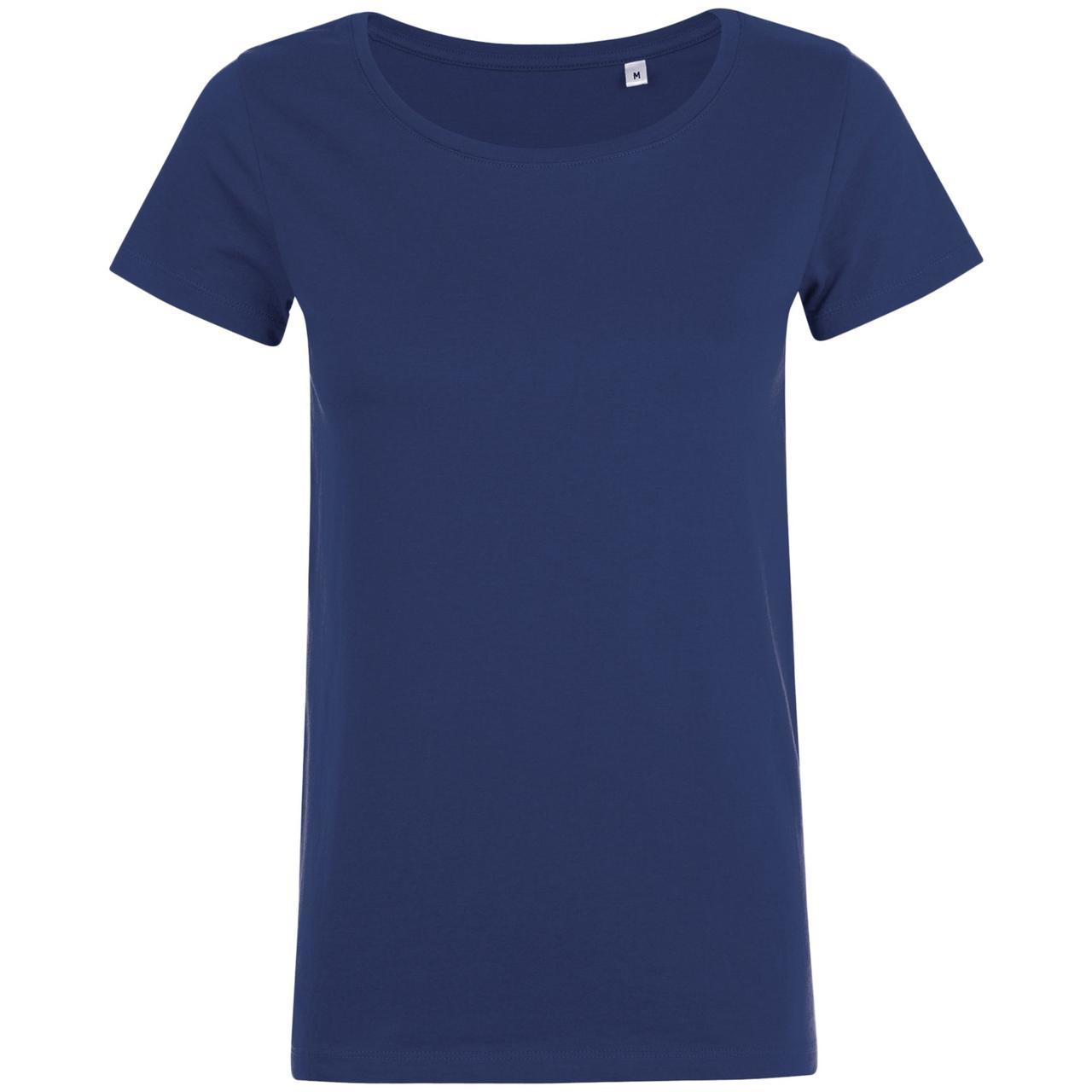 Футболка женская Mia, темно-синяя (артикул 01699319)