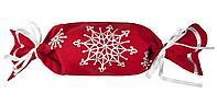 Упаковка-конфета «Снежинки», красная (артикул 2182.50), фото 1