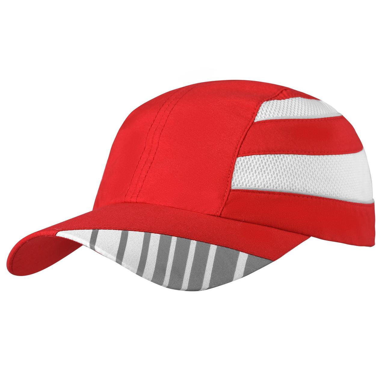 Бейсболка Ben Nevis со светоотражающим элементом, красная (артикул 2387.50)