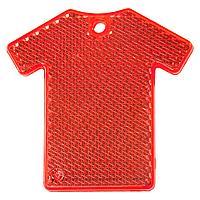 Светоотражатель «Футболка», красный (артикул 6133.50)