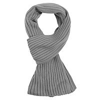 Шарф Stripes, серый (артикул 6736.10)