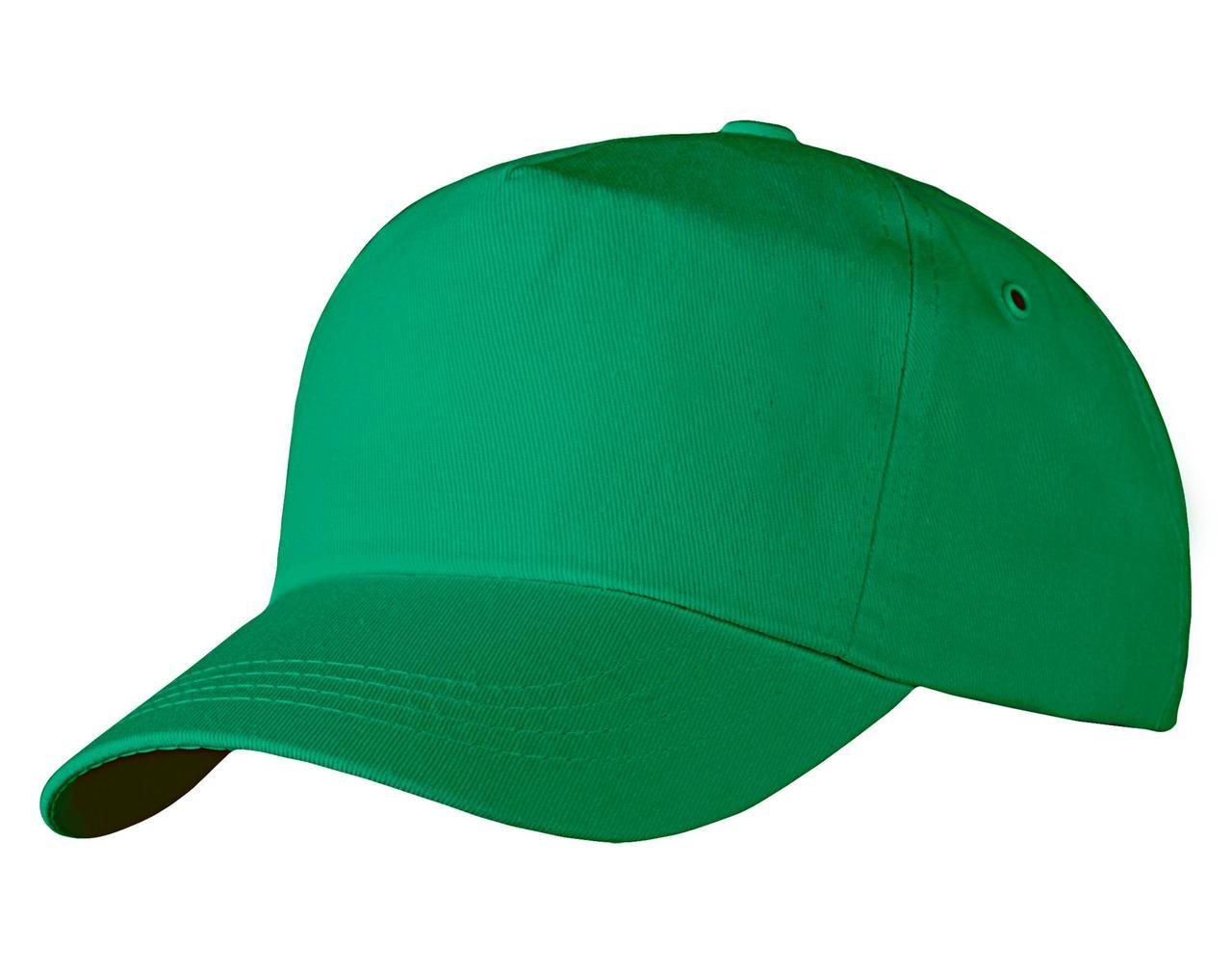 Бейсболка Unit Promo, зеленая (артикул 1846.90)
