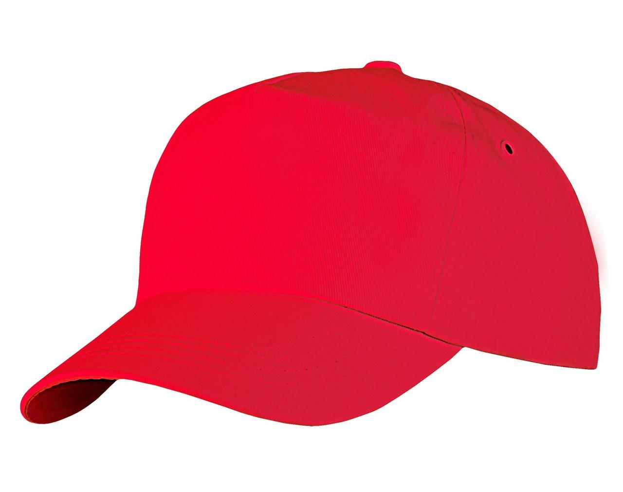 Бейсболка Unit Promo, красная (артикул 1846.50)