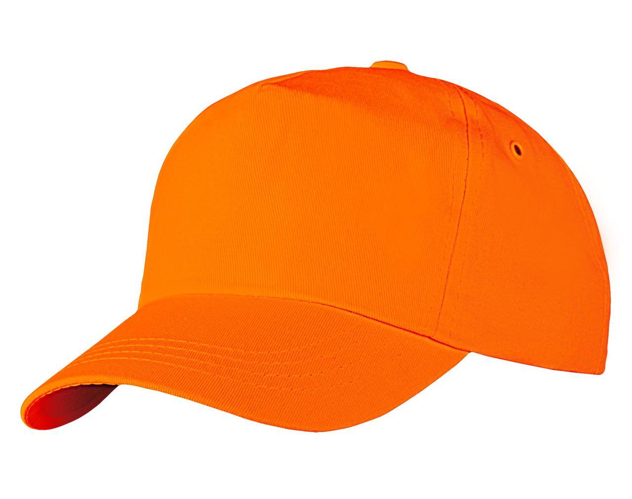 Бейсболка Unit Promo, оранжевая (артикул 1846.20)