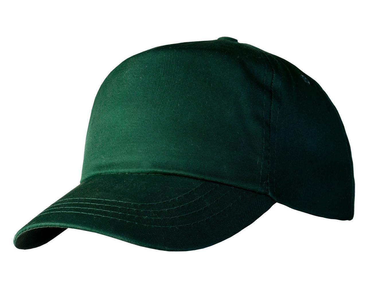 Бейсболка Unit Promo, темно-зеленая (артикул 1846.91)
