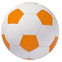 Мяч футбольный Street, бело-оранжевый (артикул 6111.20)