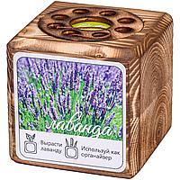 Набор для выращивания с органайзером «Экокуб Burn», лаванда (артикул 10608.06)