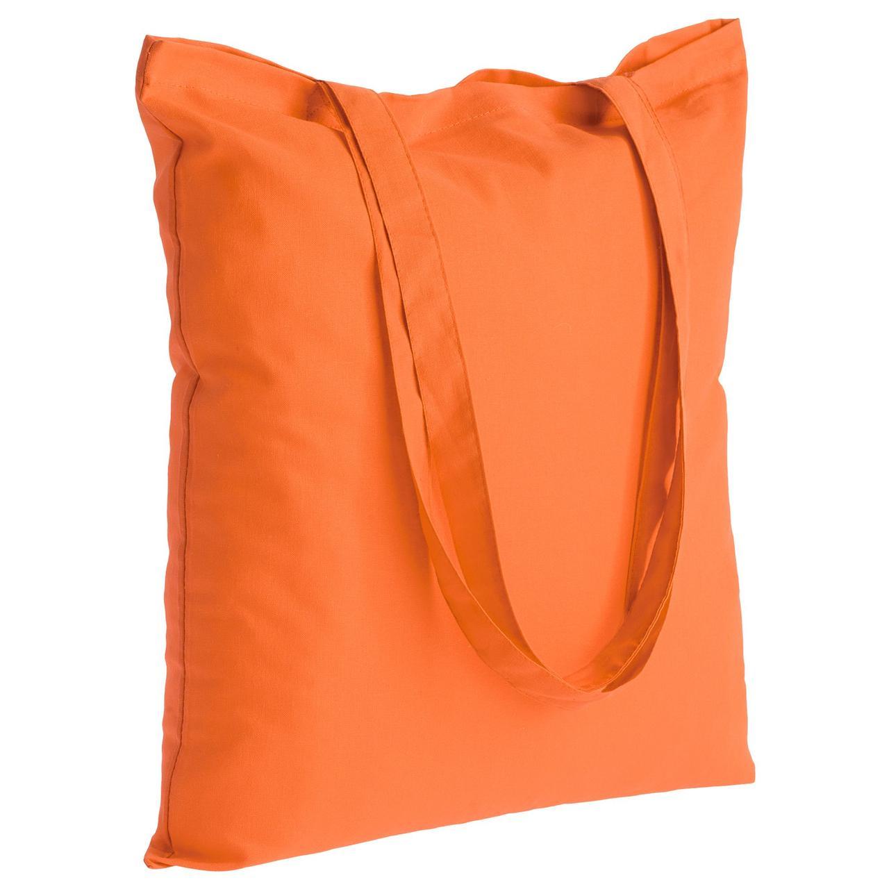 Холщовая сумка Optima 135, оранжевая (артикул 5452.20)