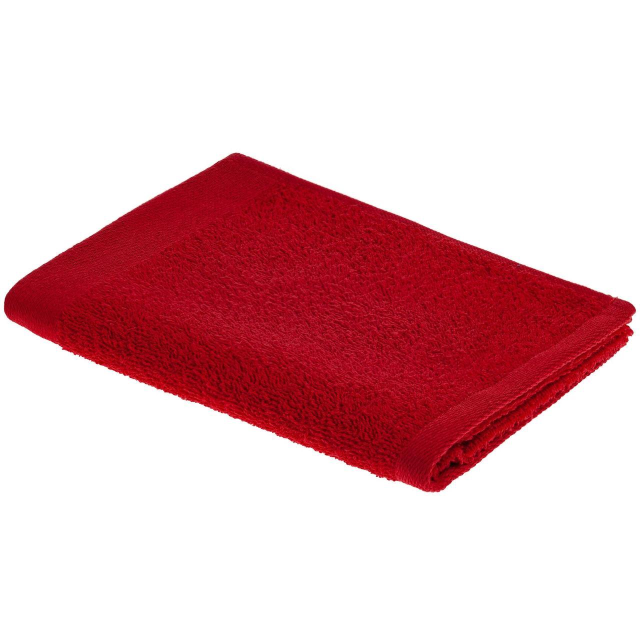 Полотенце Soft Me Light, малое, красное (артикул 15116.55)