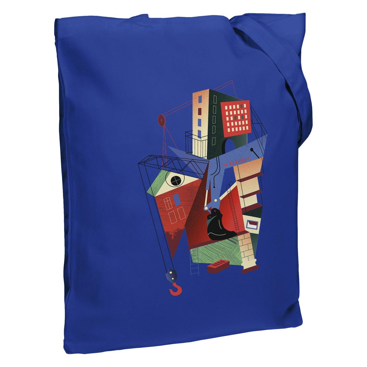 Холщовая сумка Architectonic, ярко-синяя (артикул 70351.44)
