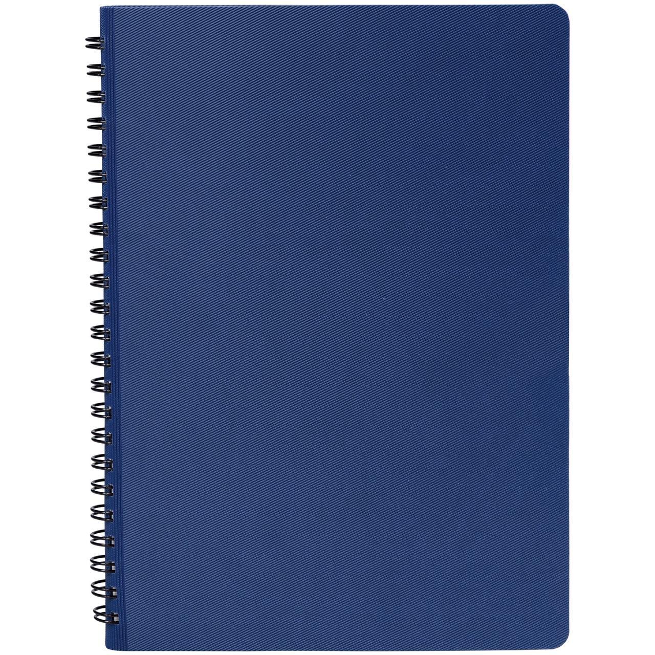 Ежедневник Twill, недатированный, синий (артикул 11862.44)