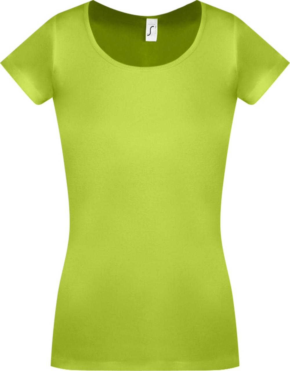 Футболка женская Moody зеленое яблоко (артикул 11865280) - фото 1