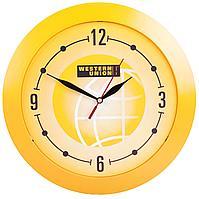 Часы настенные Vivid Large, желтые (артикул 5590.80)