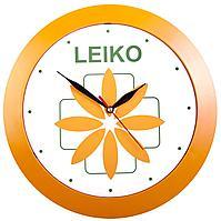 Часы настенные Vivid Large, оранжевые (артикул 5590.20)