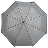 Зонт складной Hard Work, серый (артикул 77006.10)