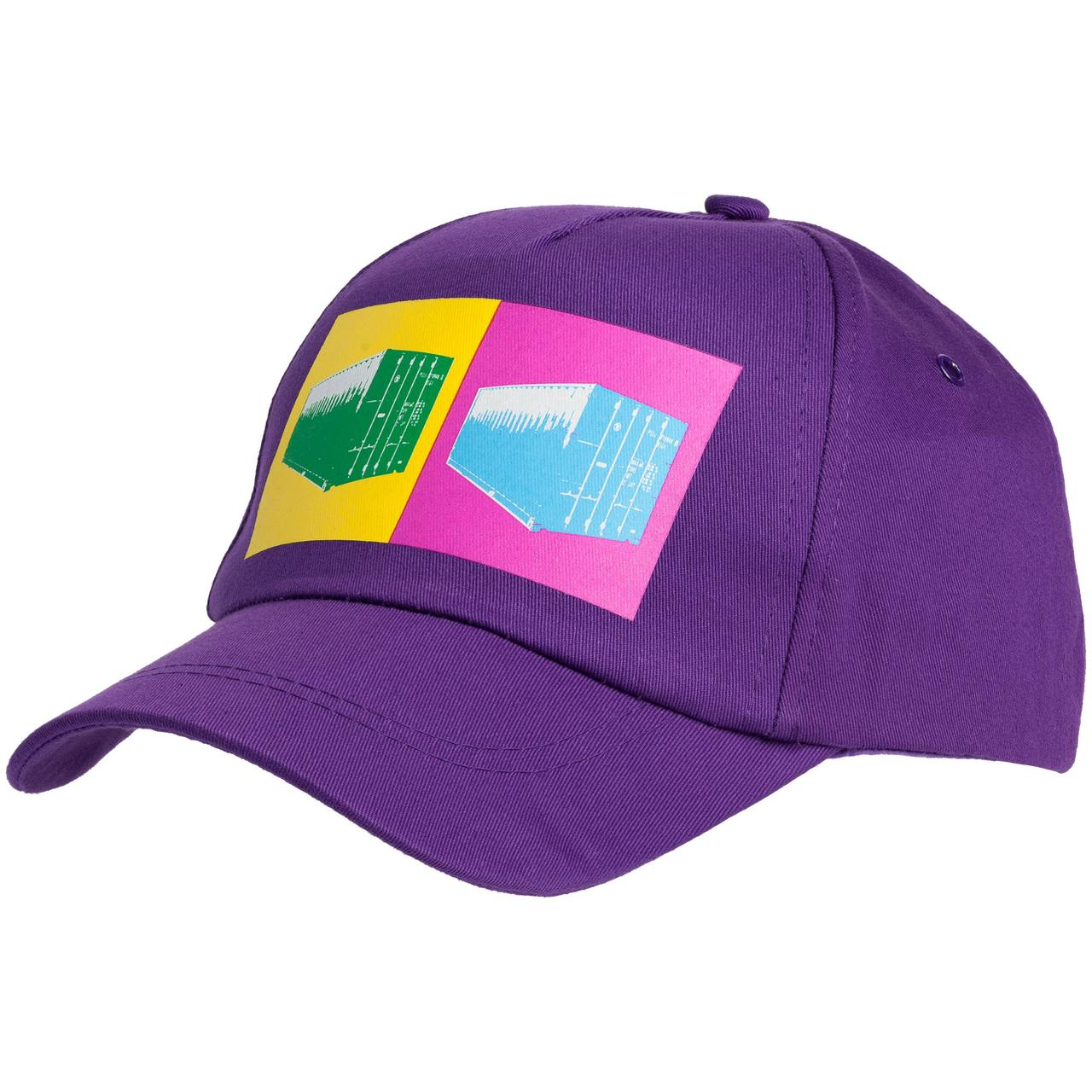 Бейсболка LogicArt, фиолетовая (артикул 70260.78)