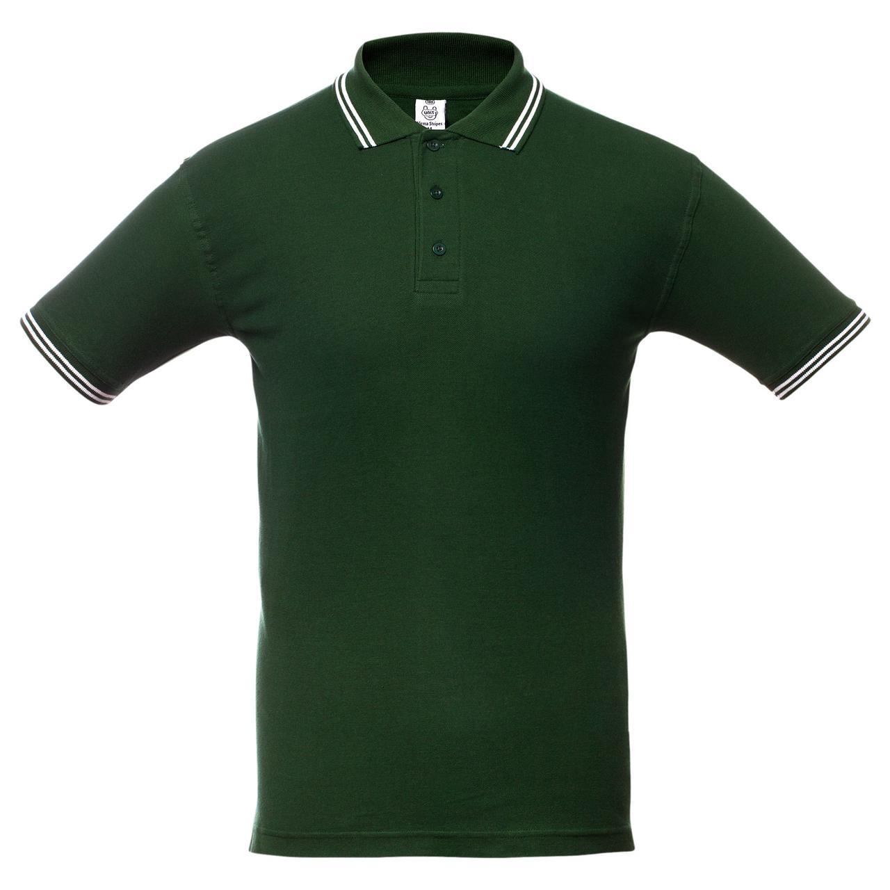 Рубашка поло Virma Stripes, зеленая (артикул 1253.90)