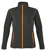 Куртка женская Nova Women 200, темно-серая с оранжевым (артикул 5850.12)